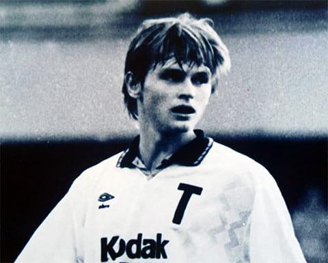 Футболист Юрий Тишков