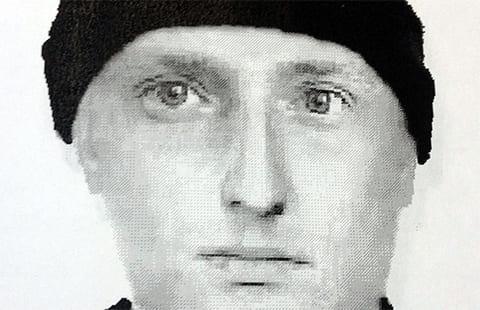 Фоторобот убийцы Юрия Тишкова
