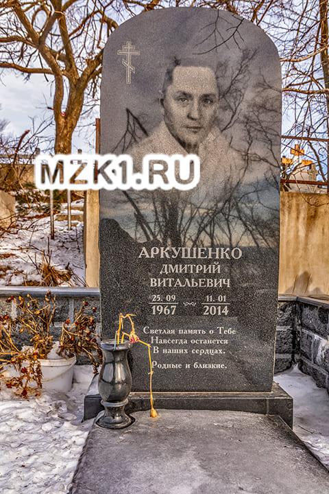 Могила Дмитрия Аркушенко
