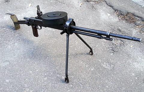 Пулемет ДТМ танковый