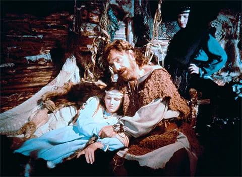 """Кадр из фильма """"Феофания, рисующая смерть"""" (1991)"""