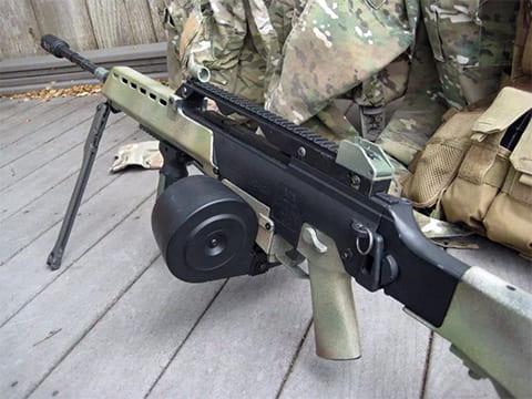 Пулемет HK mg36