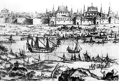 Астрахань в 13 веке