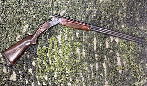 Охотничье гладкоствольное ружье ИЖ-27