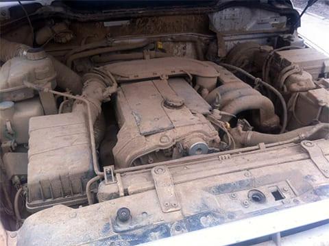 Грязный двигатель