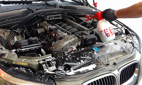 Когда надо мыть двигатель автомобиля
