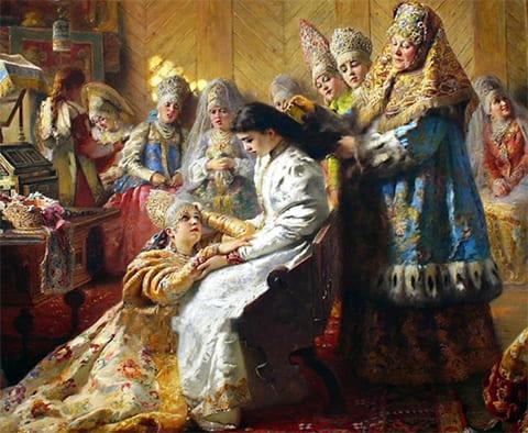 Как проходила первая брачная ночь у русских царей