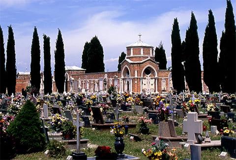 Кладбище острова Сан-Микеле, Италия