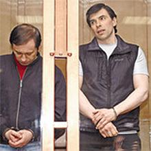 Слева - Сергей Елизаров, справа - киллер Алексей Шерстобитов
