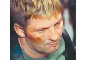 Сергей Буторин (Ося) после задержания в Испании.