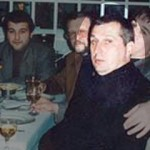 Александр Бор (на заднем плане Япончик)