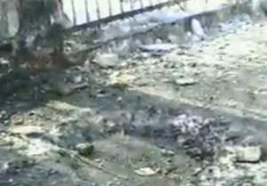 Результаты взрыва