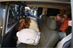 Задержанные участники группировки