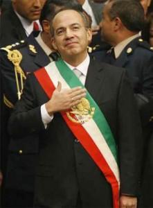 Фелипе Кальдерон. Президент Мексики