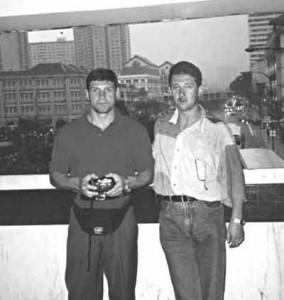 Андрей Пылев и Юрий Бачурин (убит)