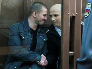 Сергей Буторин и Марат Полянский в Мосгорсуде. Фото