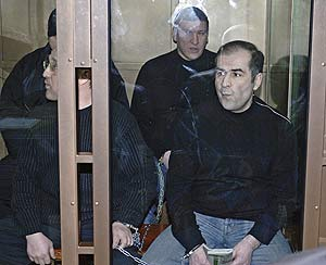 Имран Ильясов на суде