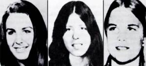 Жертвы Теодора Банди: Линда Хэли, Донна Мэнсон, Сьюзен Ранкоурт