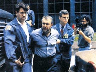 Задержание Япончика сотрудниками ФБР в Нью-Йорке