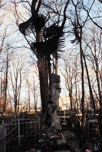 Кованые пальмы на Сонькиной могиле