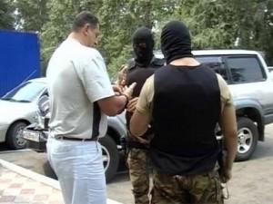 Арест криминального авторитета Малыша.