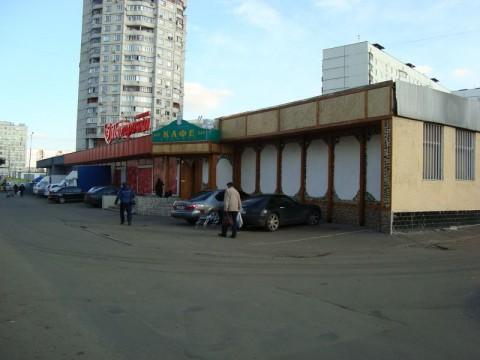 Кафе «Греческое», в котором в 1998 году убили майора УВД Южного округа Сергея Костенко.