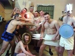 День рождение авторитета в тюрьме