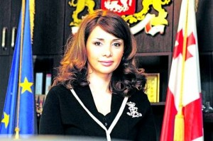 Хатуна Калмахелидзе, 32-х летняя глава Министерства исполнения наказаний, апробации и юридической помощи