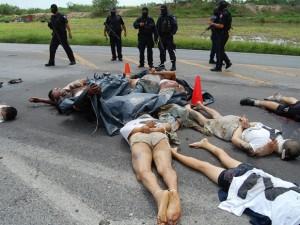 Разборки мексиканских наркоборонов