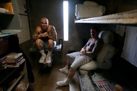 В камере заключенных