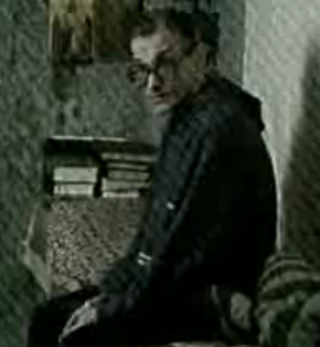 Михаил Устинович в камере смертников