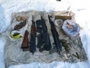 Свердловское УФСБ нашло арсенал Федулева