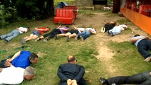 Арест участников воровской сходки в Электроуглях