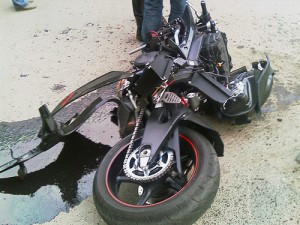Злополучный мотоцикл