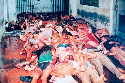 Массовое убийство сто двух заключенных во время бунта в тюрьме Carandiru