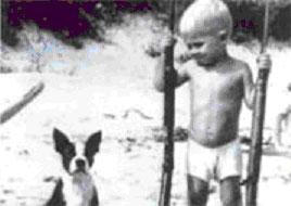 Чарльз Уитмен в детстве