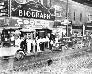 """Это знаменитый театр """"Биограф"""", на выходе их которого застрелили Диллинджера в 1934-м"""