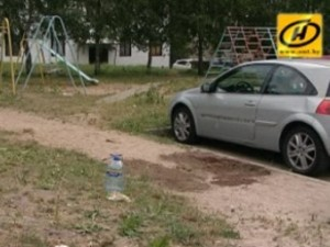 Место убийства в Минске