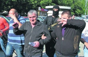 Главного вора в законе в Украине Антимоса (в центре) лишили гражданства и выдворили из страны