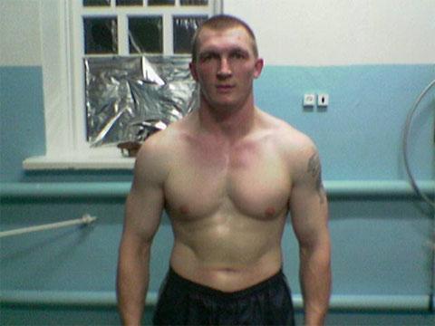 Активный участник банды Андрей Быков (Бык)