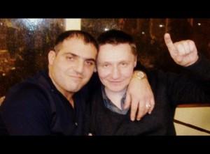 Слева вор в законе Артем Аракелян - Артем Липецкий, справа - вор в законе Александр Кушнеров - Саша Кушнер