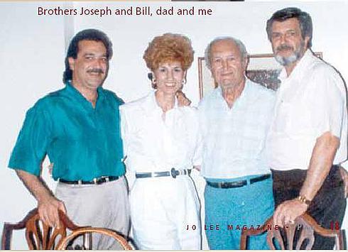 Бонанно Джозеф с женой Фей Лабрузо и друзьями семьи