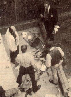 На месте убийства Убийство  Кармине Галанте