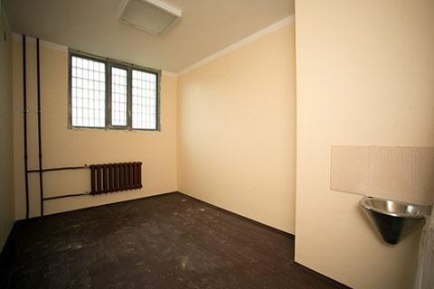 Тюремная камера в СИЗО Колпино