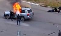В ХМАО взорвали авто жены «смотрящего»