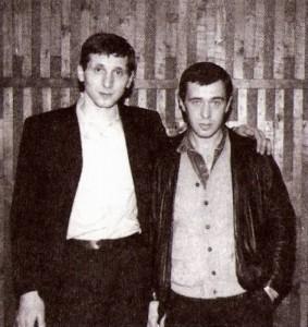 Слева - криминальный авторитет Олег Болбатовский (Балда) и вор в законе Владимир Соломинский (Солома)