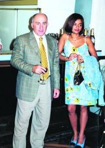 Криминальный авторитет Борис Cавлохов с женой Мзией Савлоховой