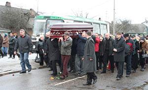 Похороны вора в законе Владимира Бирюкова (Бирюк или Биря)