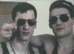 Слева направо: Леонид Клещенко (Узбек) и Игорь Чернаков