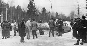 Задержание членов бандитской группировки